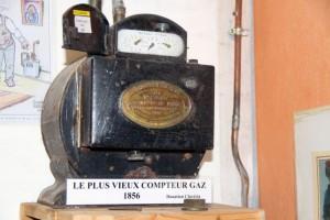 le plus vieux compteur gaz-1856